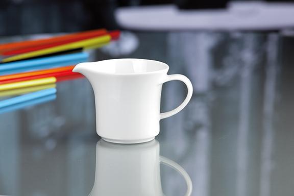 Savoy Dekor weiß uni Milchkännchen