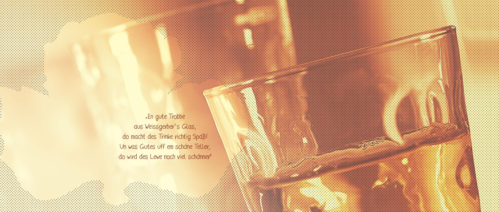 Weissgerber Gläser slider Bild 1